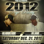 Sat. Dec 31st, 2011  |  The Ultimate 2012 NYE Party @Odeon Events Centre | Saskatoon ,Canada