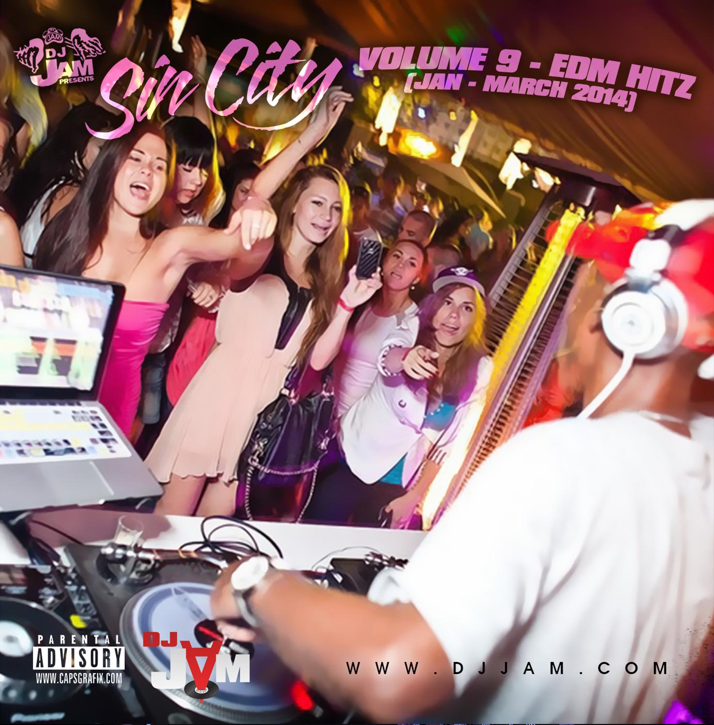 """NEW MUSIC"" SIN CITY VOL. 9 EDM vs HIP-HOP/RnB/POP (JAN - MARCH 2014)"