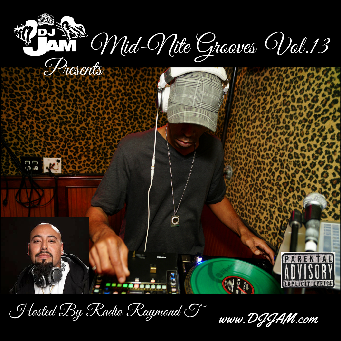 """""""NEW MUSIC"""" Mid-Nite Grooves Vol.13 Hosted by Radio Raymond T.   Stream 