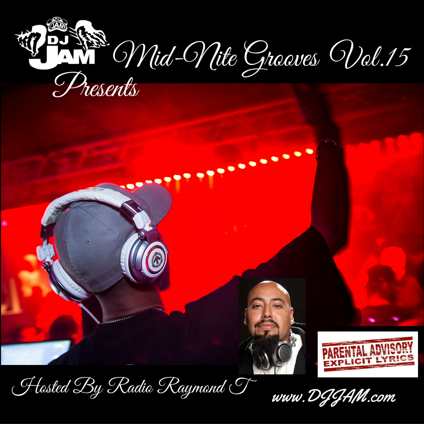 """""""NEW MUSIC for the Holidays!!!"""" DJ Jam Presents Mid-Nite Grooves Vol.15 Hosted by Radio Raymond T"""