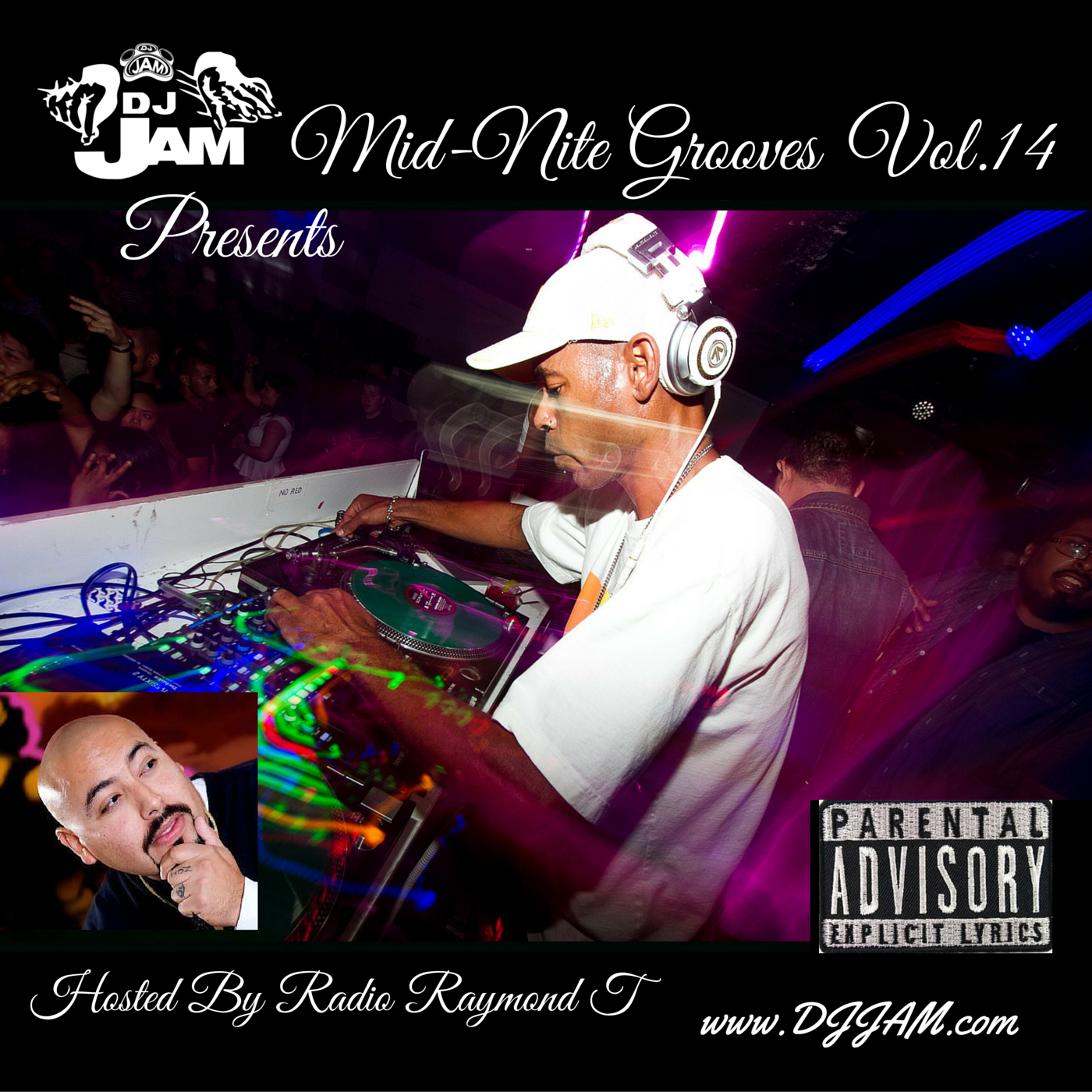 """""""NEW MUSIC"""" Mid-Nite Grooves Vol.14 Hosted by Radio Raymond T. Listen Now!!!"""