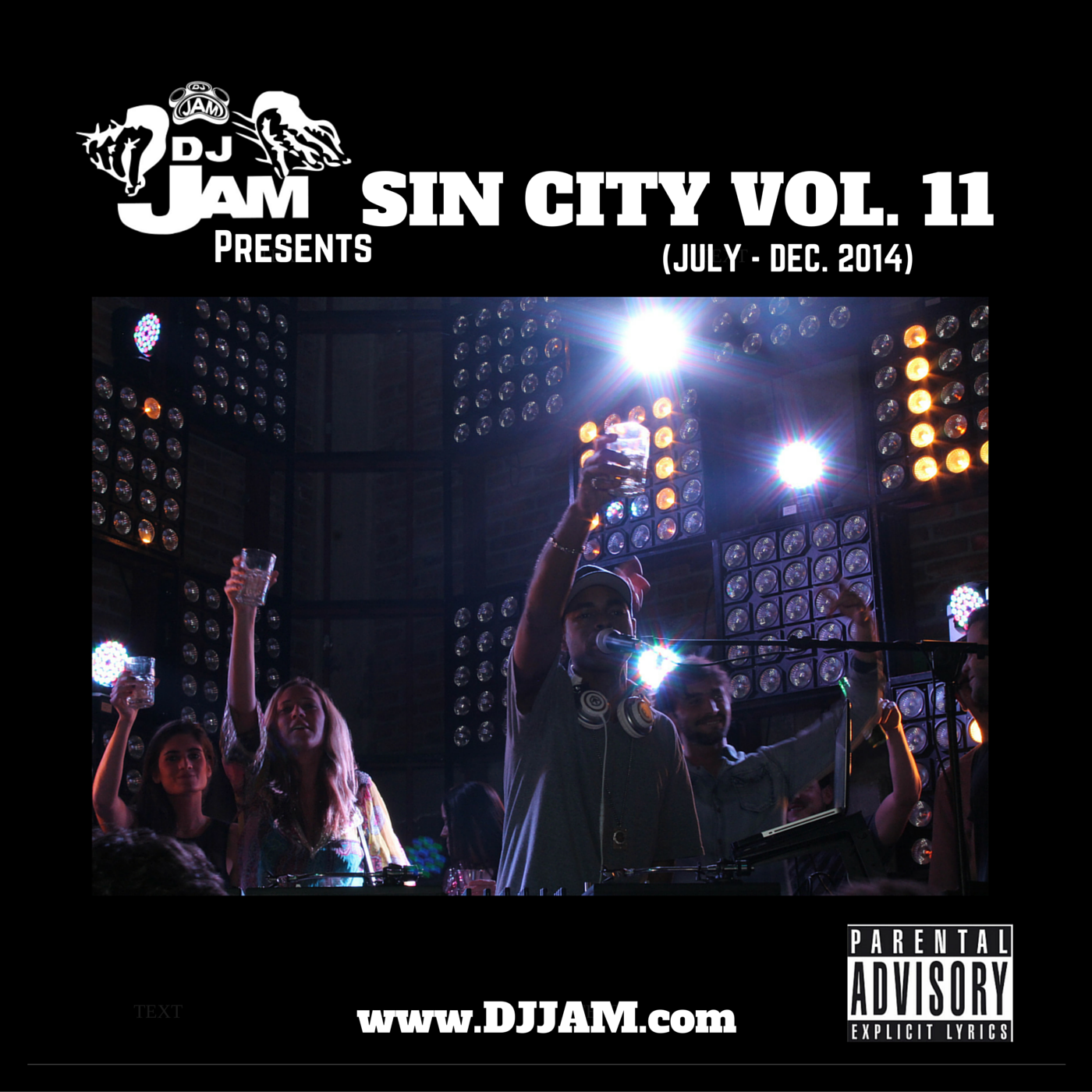 """New Music For The Holidays, DJ Jam Presents """"Sin City"""" Vol.11 - Listen Now!!! #DJVATICAN"""