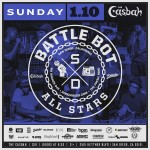 JANUARY 10th / Battle Bot All-Star Edition at the Casbah / San Diego,CA #RELOOPDJ #ODYSSEY