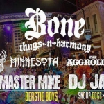 Saturday Feb. 6th / Madi Gras Celebration Downtown Street Block Party featuring Bone Thugs In Harmony / San Diego,CA #DJVATICAN