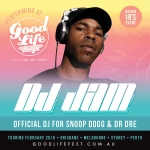 February 2016 / Good Life Australia Festival (Melbourne, Sydney, Perth & Brisbane) / DJ Jam with A$ap Rocky, Jeremih & more!!!