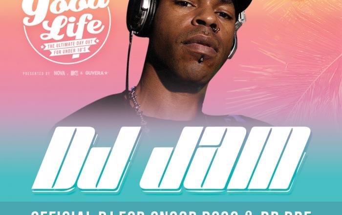 DJ JAM - GOODLIFE FLYER