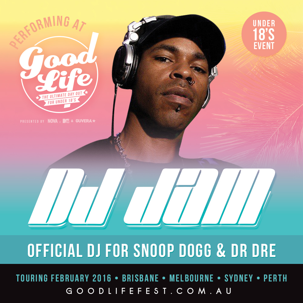 February 2016 / Good Life Australia Festival (Melbourne, Sydney, Perth & Brisbane) / DJ Jam with A$ap Rocky, Jeremih & more!!!