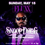 Snoop Dogg at Fluxx Nightclub with DJ JAM May 15, 2016
