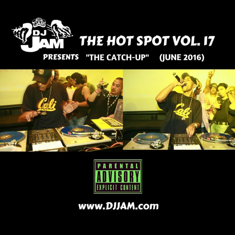 Check out Dj Jam's new mixtape The Hot Spot Vol. 17 featuring various artists.