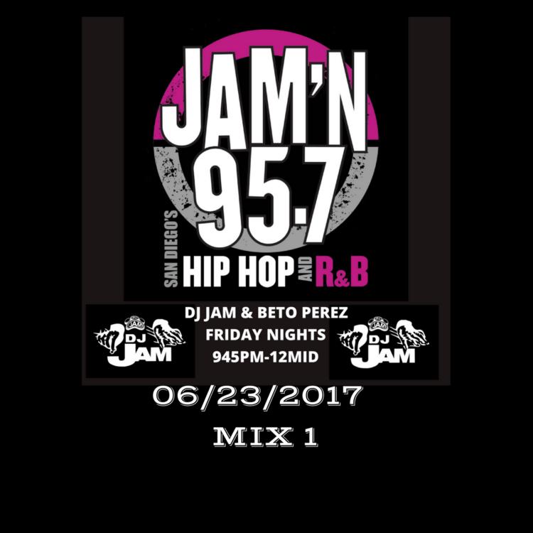 DJ Jam Radio Mix 06/23/2017 Mix 1